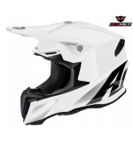 CASCO AIROH TWIST WHITE GLOSS