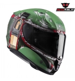 CASCO HJC RPHA 11 BOBA FETT LIMITED EDITION STAR WARS!