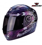 CASCO SCORPION EXO 490 DREAM NERO CAMALEONTE LADY