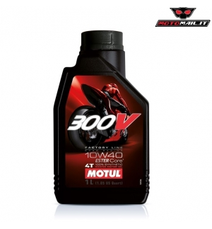 OLIO MOTUL 300V FACTORY LINE ROAD RACING 10W40 4T 100% SYNTHETIC SINTETICO