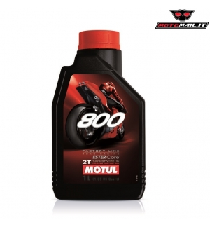 OLIO MOTUL 800 FACTORY LINE ROAD RACING 2T 100% SYNTHETIC