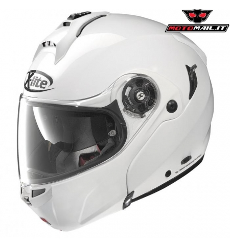 CASCO X-LITE X-1004 ELEGANCE BIANCO MODULARE VPS PINLOCK MADE IN ITALY