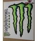 ADESIVI MONSTER ENERGY GRAFFIO + SCRITTA