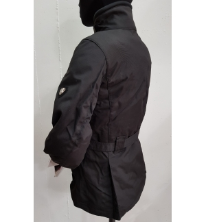 GIACCA MOTO ARLEN NESS DONNA LADY TRAPUNTINO IMPERMEABILE PROTEZIONI SCOOTER S M L NERO BLACK JACKET