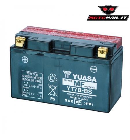 BATTERIA YUASA YT7B-BS (SIGILLATA CON ACIDO A CORREDO) 12V 6,5AH 0650710