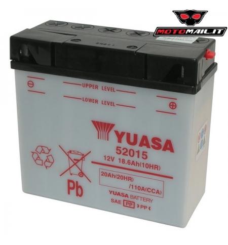 BATTERIA YUASA 52015 12V 20AH 0652015
