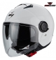 CASCO SCORPION EXO CITY JET WHITE BIANCO XS S M L XL PARASOLE SCOOTER