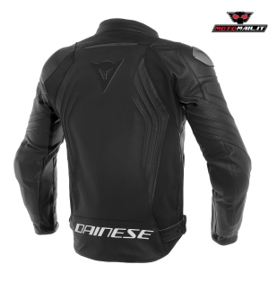 GIACCA DAINESE PELLE RACING 3 LEATHER JACKET NERA BIANCA 48 50 52 54 56