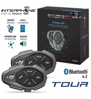 INTERFONO CELLULAR LINE TOUR DOPPIO BLUETOOTH