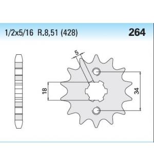 PIGNONE CHIARAVALLI 4250264160