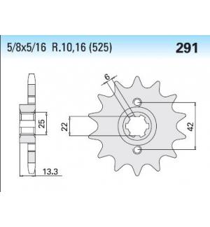 PIGNONE CHIARAVALLI 4250291161